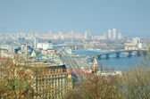 Spring view of Kiev. — Stock Photo