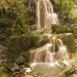 A waterfall at Digley reservoir — Stock Photo