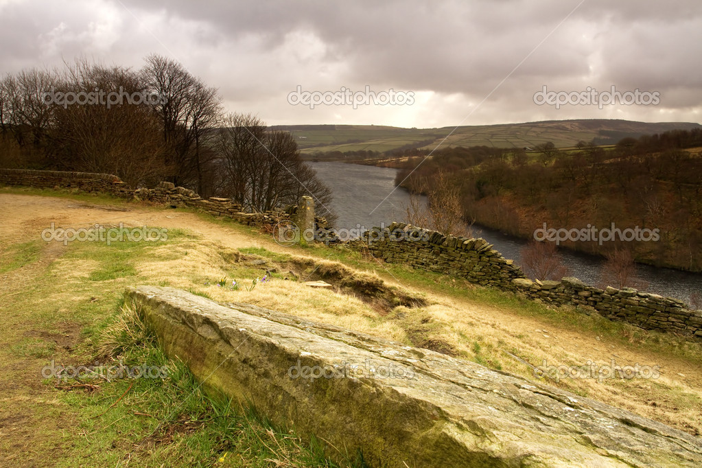 A view across Digley reservior,near Holmefirth,West Yorkshire  Stock Photo #9534685