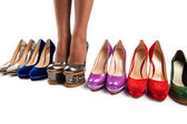 Shoes and legs-8 — Stock Photo