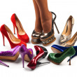 Shoes and legs-9 — Stock Photo #10587933