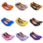 Ballet flat shoes-1 — Stock Photo