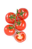 Tomatoes on a bunch-25 — Stock Photo