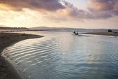 Pozdrawiam fale morza — Zdjęcie stockowe