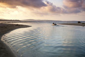 Ripples Greet the Sea — Стоковое фото
