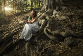 Fairy of the forest — Stock Photo