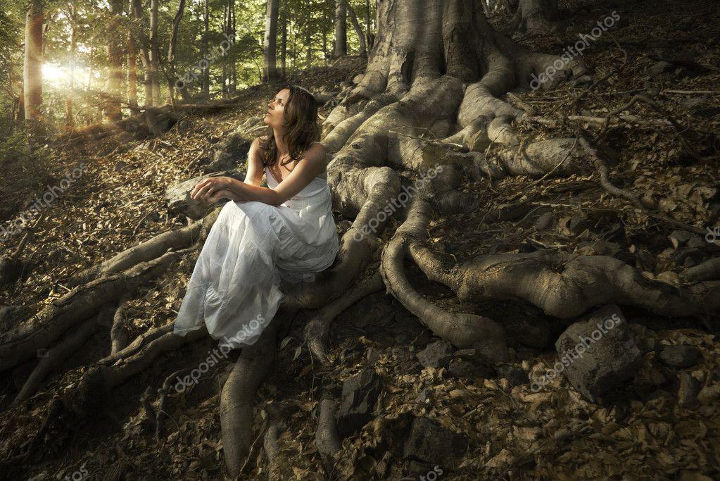 Фотообои Fairy of the forest