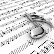 Musical note — Stock Photo #10047078
