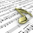 Musical note — Stock Photo #10106485