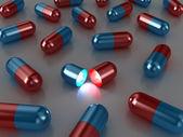 Las pastillas — Foto de Stock