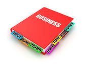 Book about business — Stock Photo