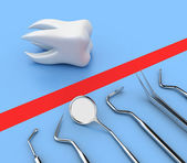 Dental tools — Stock Photo