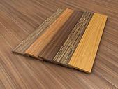 Timber floor — Stock Photo