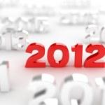2012 date — Stock Photo