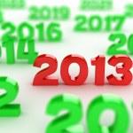 2013 date — Stock Photo #9876199