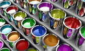 The paint — Stock Photo