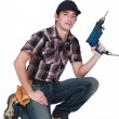 Stock Photo: Young handyman