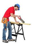 I'm a carpenter — Stock Photo