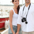 Stock Photo: Tourist couple