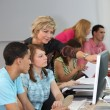 Students in classroom — Stock Photo #10094114