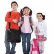 Kids going back to school. — Stock Photo