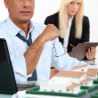Architects in meeting — Stock Photo #10096030