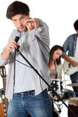Rock group — Stock Photo