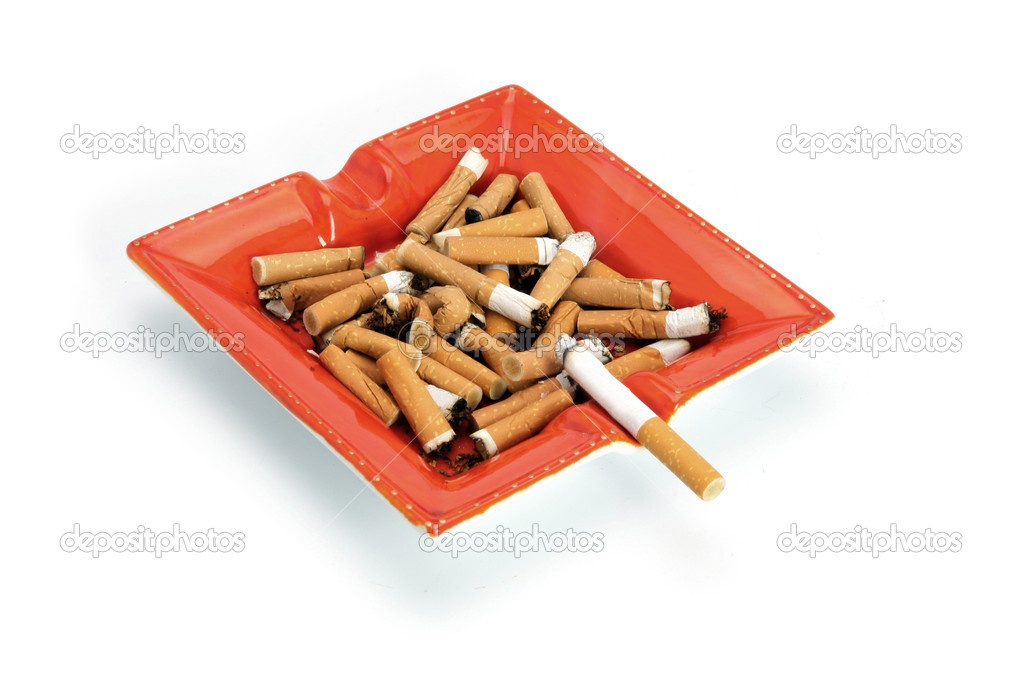 Cigarettes in an ashtray — Stock Photo #10101888
