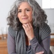 Stock Photo: Mature woman posing