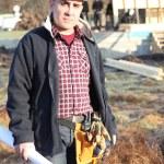 A construction foreman — Stock Photo