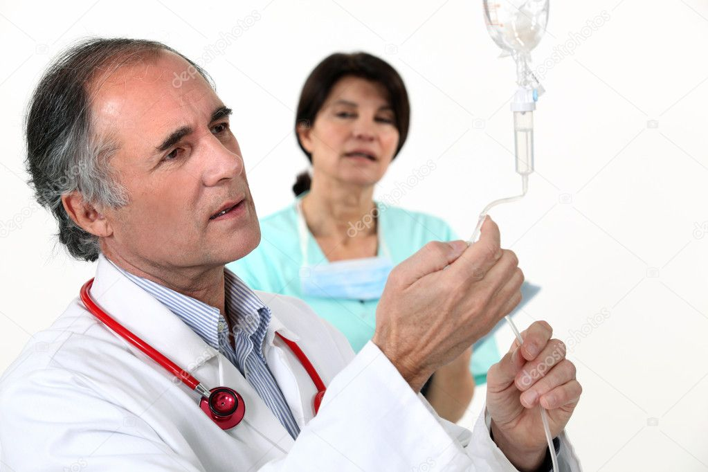 Medical drip  Stock Photo #10121257
