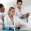 Researchers in the laboratory — Stock Photo #10198739