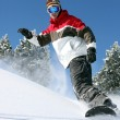 Snowboarder in action — Stock Photo #10199257