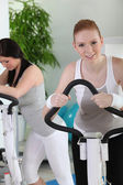 Women at the gym — Stock Photo