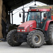Stock Photo: Tractor in farm