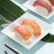 Sushi preparation - Stock Photo