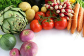Array of vegetables — Stock Photo