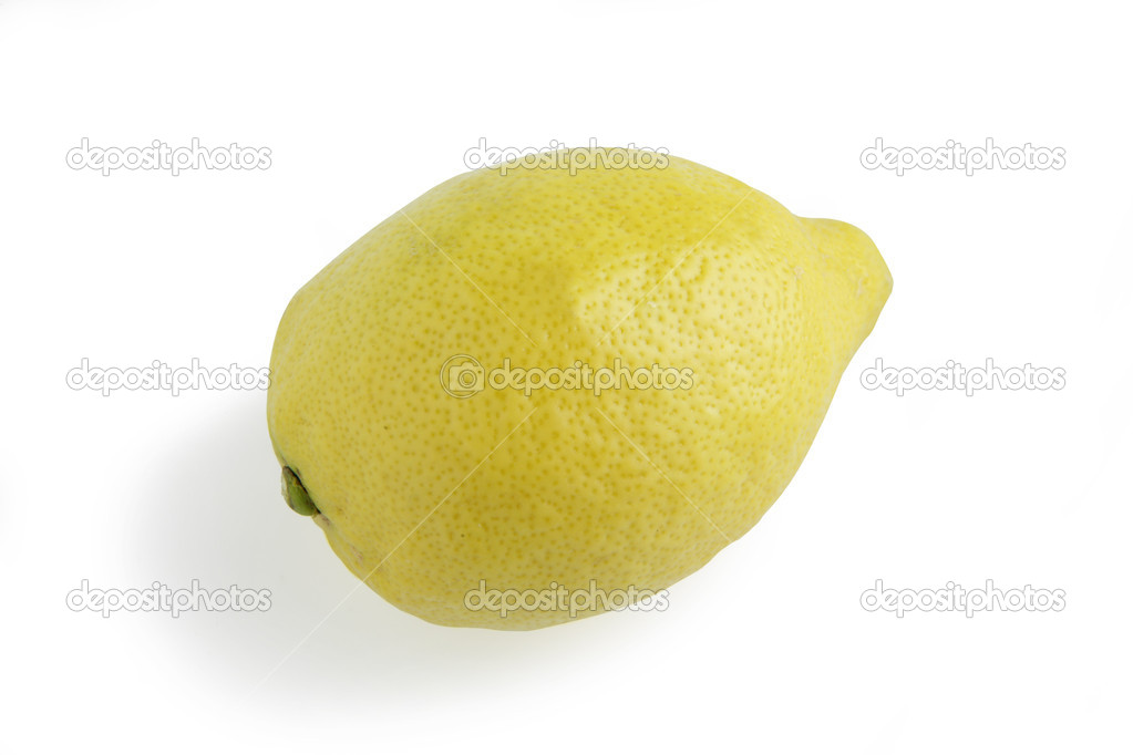 Single lemon — Stock Photo #10279000