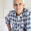 Grey haired handyman — Stock Photo #10280673