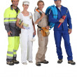 Royalty-Free Stock Photo: Different jobs