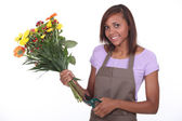 Young Florist — Stock Photo