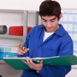 Stockfoto: Young piece of plumbing