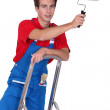 Young house painter — Stock Photo