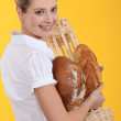 Female baker — Stock Photo #10326859