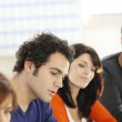 Colleagues in informal meeting — Stock Photo