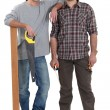 Two handymen - Stock Photo