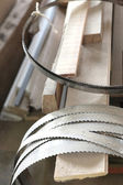 Collection of band-saw blades — 图库照片