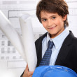 Child architect — Stock Photo #10378390