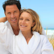 Couple on a summer vacation — Stock Photo