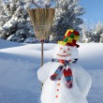 Snowman — Stock Photo #10386065